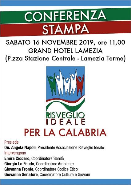 conferenza stampa angela napoli
