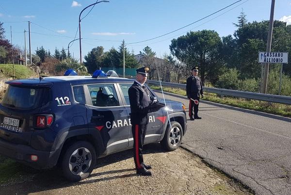 carabinieri cassano allo ionio