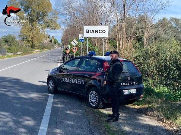 carabinieri bianco