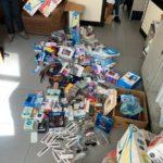 Reggio Calabria: la polizia locale durante alcuni controlli sequestra circa 700 pezzi di merce varia