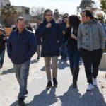 Reggio Calabria: grande partecipazione per la passeggiata con il sindaco sul cantiere del Parco Lineare Sud