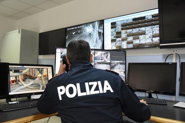 sala operativa polizia di stato