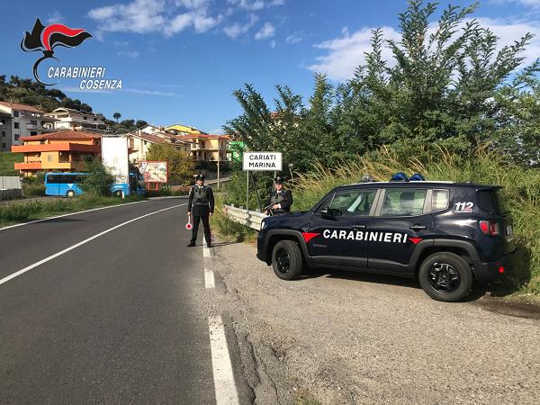 carabinieri cariati