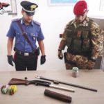 Ciminà: ennesimo rinvenimento di armi da parte dei carabinieri in un terreno demaniale