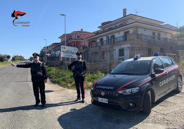 carabinieri spezzano albanese