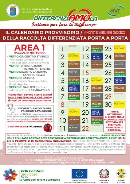 avr area 1 - novembre 2020