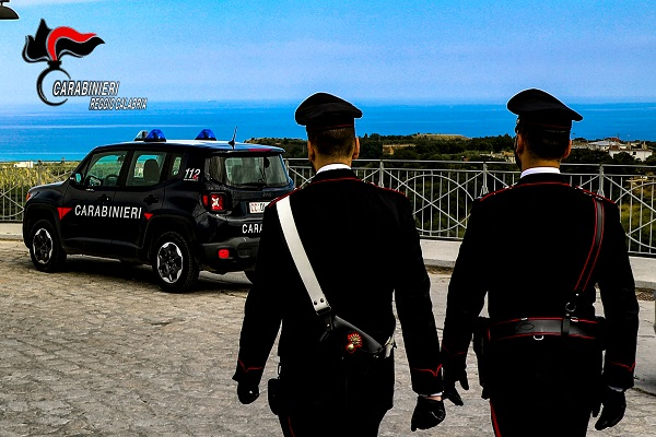 carabinieri roccella jonica