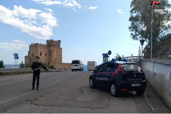 carabinieri roseto capo spulico