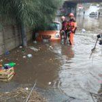 Reggio Calabria: sono stati diversi gli interventi dei vigili del fuoco a causa del maltempo