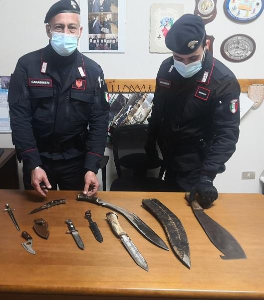 sequestro carabinieri corigliano calabro
