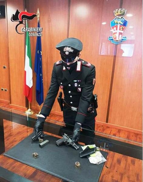 sequestro carabinieri cosenza