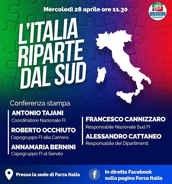 conferenza l'italia riparte dal sud - cannizzaro