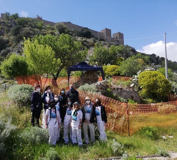 restauro castello santo niceto - motta