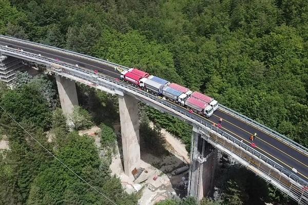 viadotto Gangarello - SS107