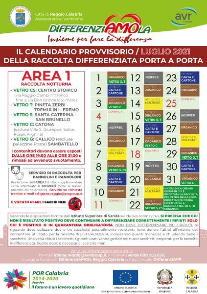 avr area 1 - luglio 2021