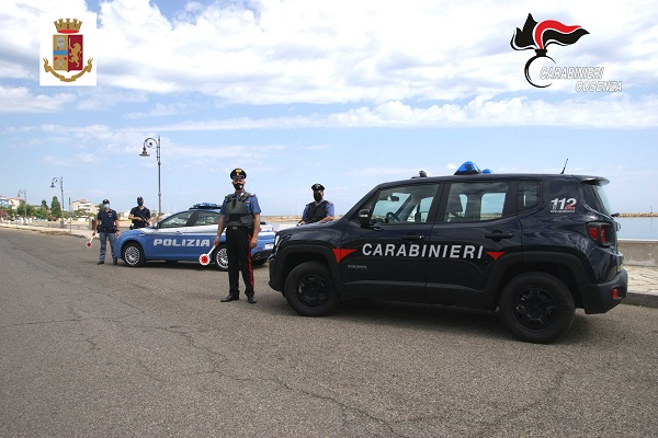 polizia - carabinieri cariati