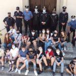 Uomini oltre l'uniforme, i carabinieri incontrano i ragazzi di Staiti