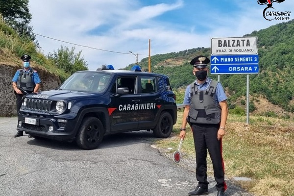 carabinieri balzata - rogliano